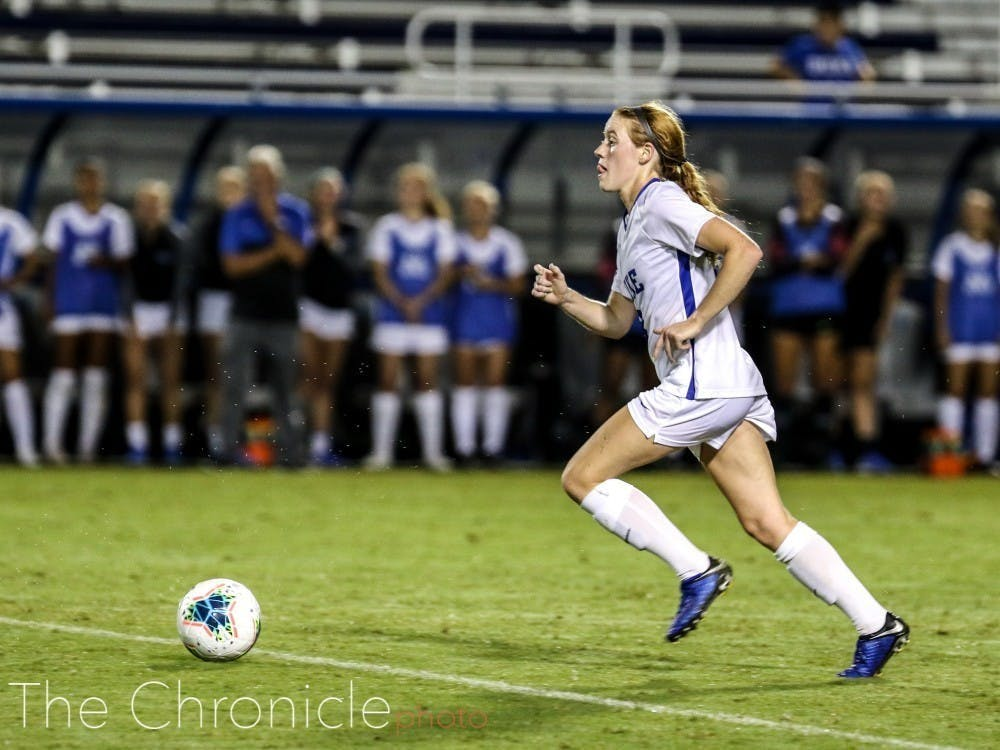 Boade led Duke in points this past season, with 15 to her name.