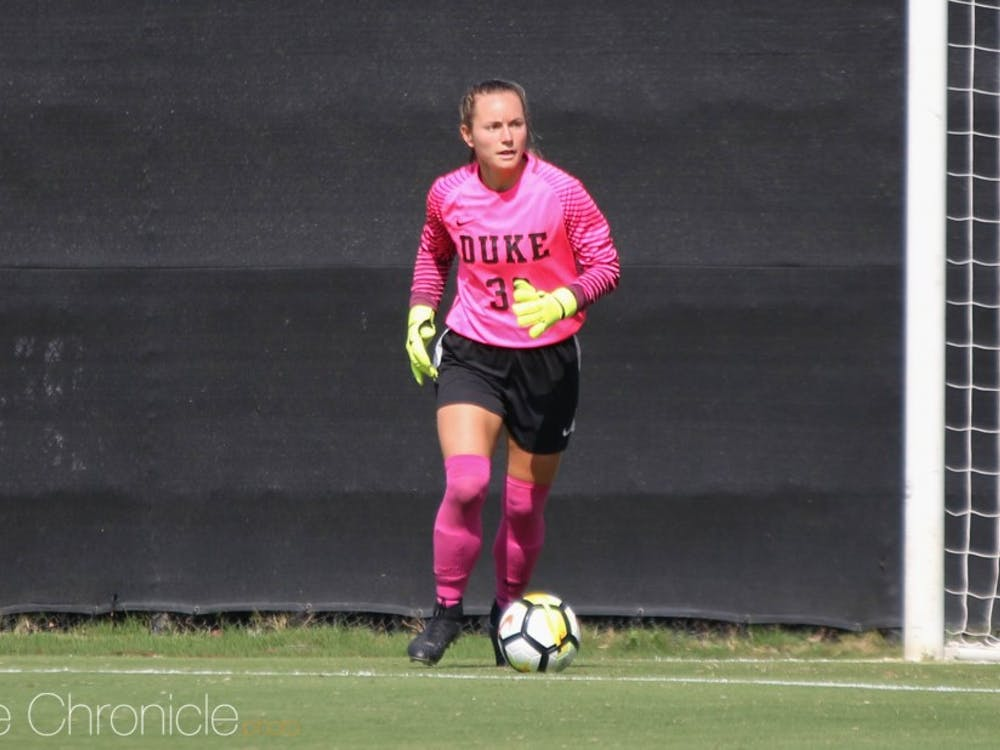 EJ Proctor has shut out two-thirds of the opponents she has faced this year and posted the easiest clean sheet of her career Sunday when Miami did not take a shot.