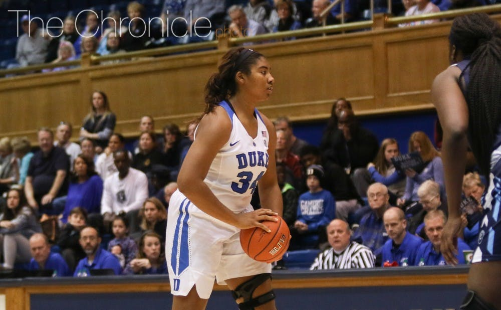 <p>The Blue Devils will now enter the 2017-18 without three of their post players after Lyneé Belton announced her retirement Wednesday evening.</p>