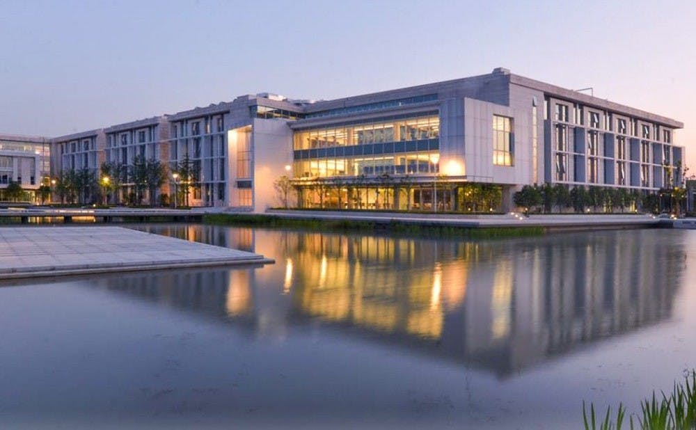<p>The idea for Duke Kunshan University started as a branch of Duke's Fuqua School of Business to establish connections in China.</p>