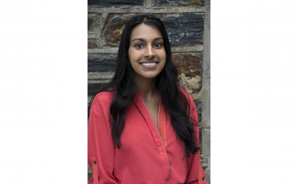 <p>Ranganathan is the president of the Duke Panhellenic Association and co-founded a company called Ungraded Produce&nbsp;that works to reduce food waste.</p>