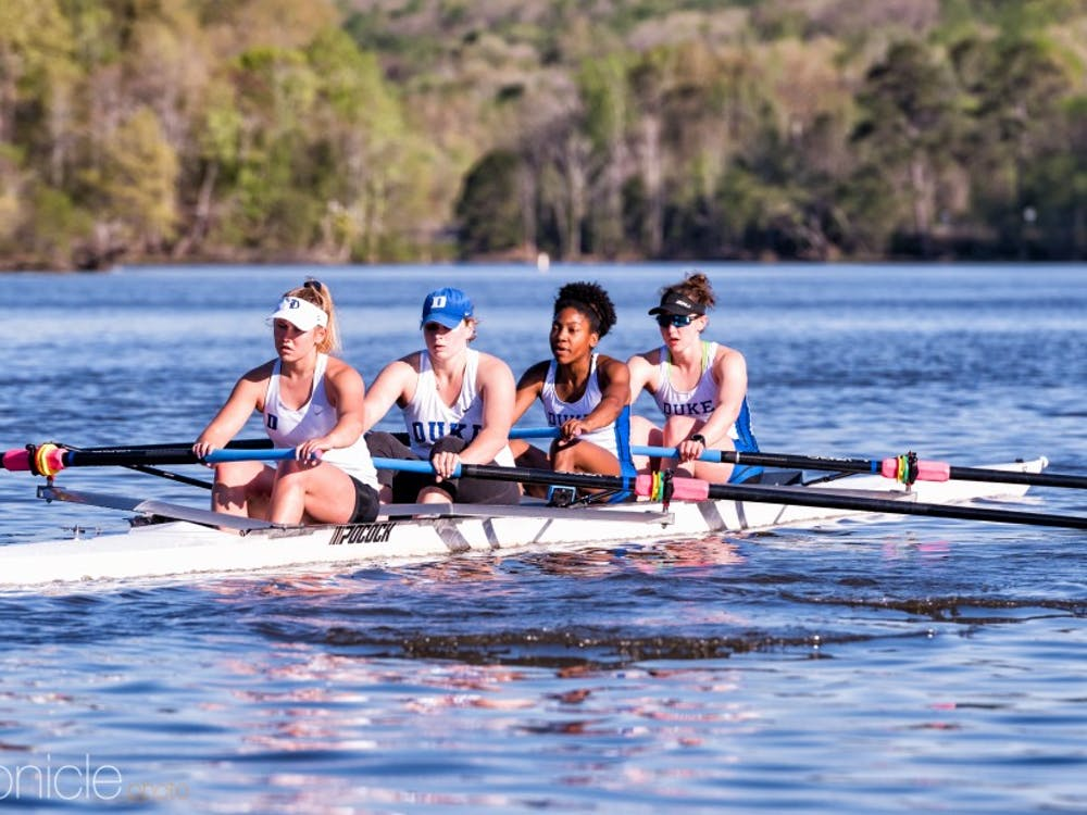 Three Duke boats finished in the top five at the Princeton Chase.