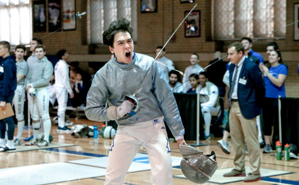 <p>Duke fencing had a strong showing in the NCAA championships this weekend.</p>