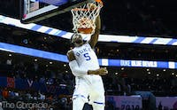 R.J. Barrett averaged 22.6 points and 7.6 rebounds in his lone season at Duke.