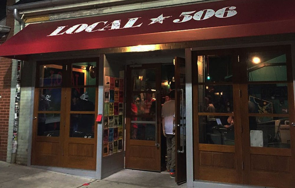 Local 506, located on Chapel Hill's Franklin Street, is part dive bar, part rock club.