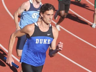 Duke track and field has been under the guidance of Norm Ogilvie for three decades.