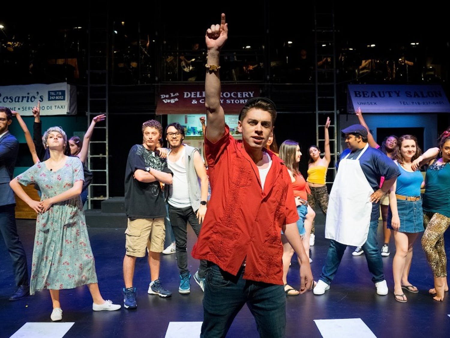 """Hoof 'n' Horn's """"In the Heights"""" runs through April 20 at the Rubenstein Arts Center."""
