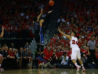 Duke's title game preview in 2014 against Wisconsin is one of many memorable Blue Devil matchups in the ACC/Big Ten Challenge.