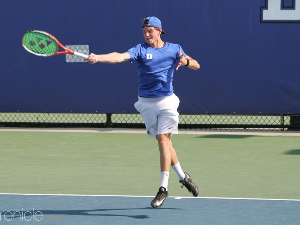 Spencer Furman clinched the Blue Devils' upset victory Friday.