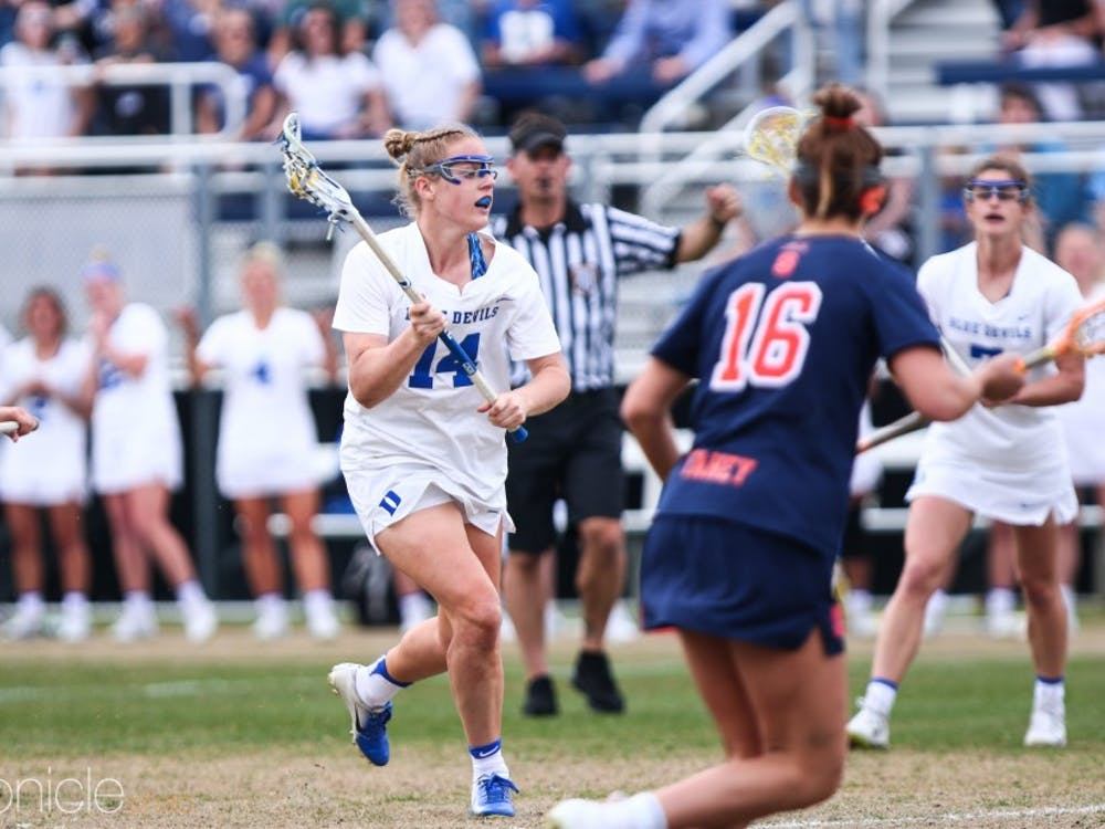 Olivia Jenner added a hat trick and controlled the faceoff X Saturday.
