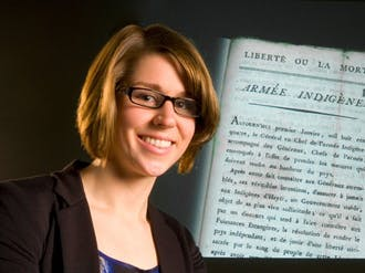 Julia Gaffield, a graduate student in history, discovered one of the original copies of Haitian Declaration of Independence in London's British Archives February 2.