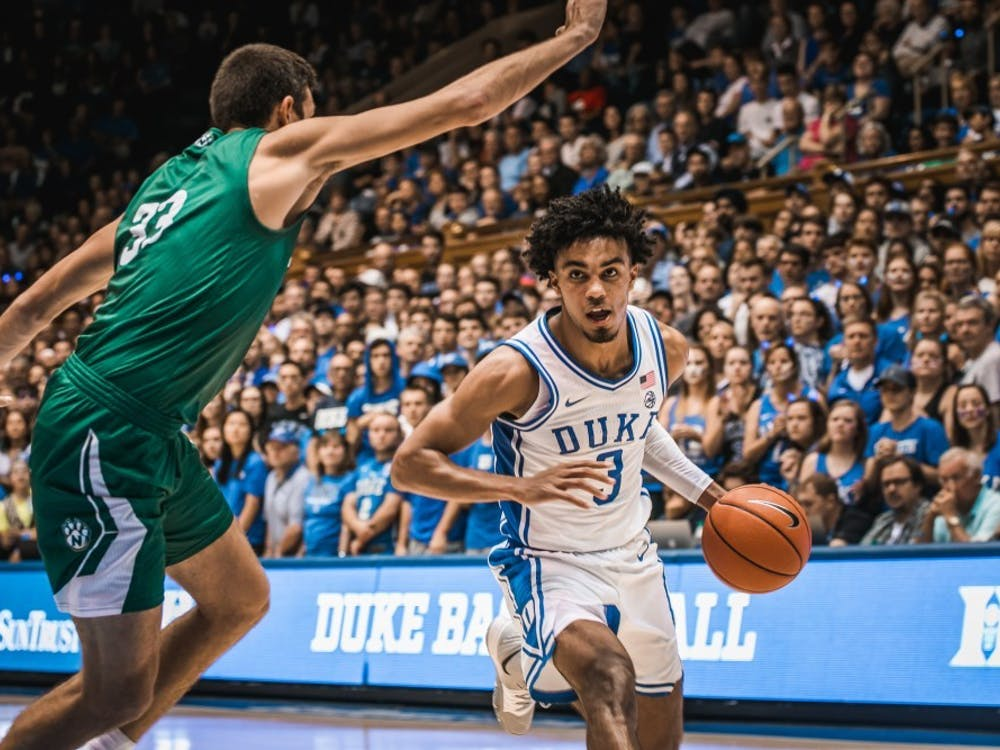 Jones averaged 12 points and four assists in Duke's two exhibition contests