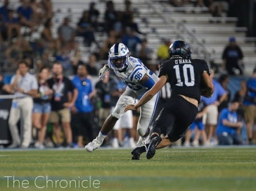 Chris Rumph II checked in at seventh in Pro Football Focus' ranking of the 50 best players in the 2020 football season.