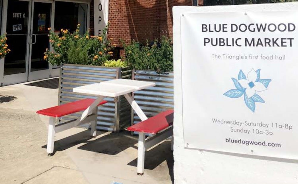 Blue Dogwood Public Market in Chapel Hill opened in June, and prides itself on offering a wide variety of gluten-free, soy-free and vegan options.
