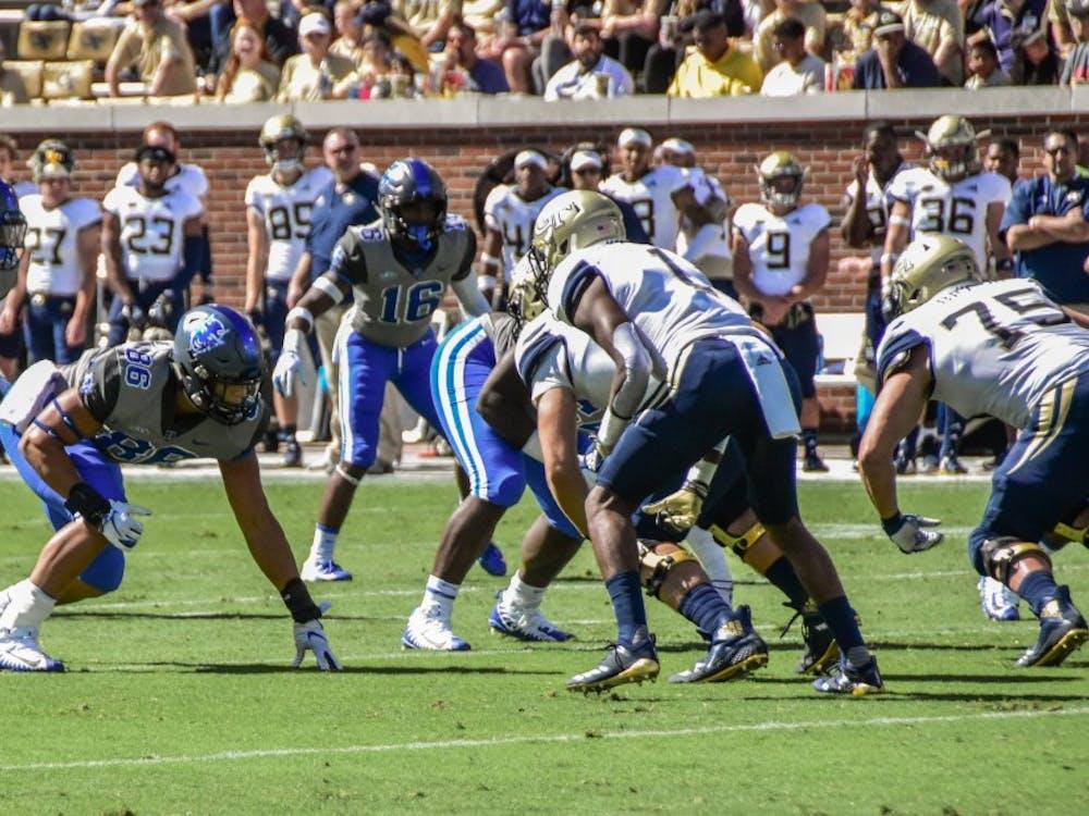 Duke forced five Georgia Tech fumbles Saturday.