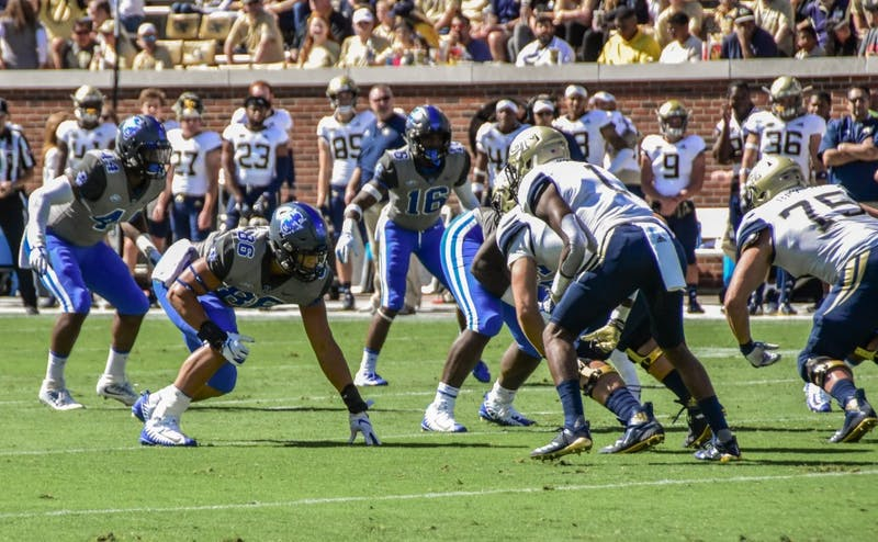 Duke forced five Georgia Tech fumbles Saturday.