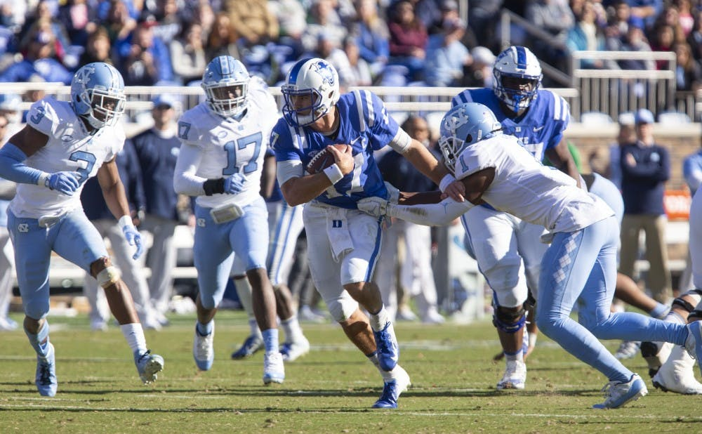 DAN THE MAN: Daniel Jones' record-setting day lifts Duke football
