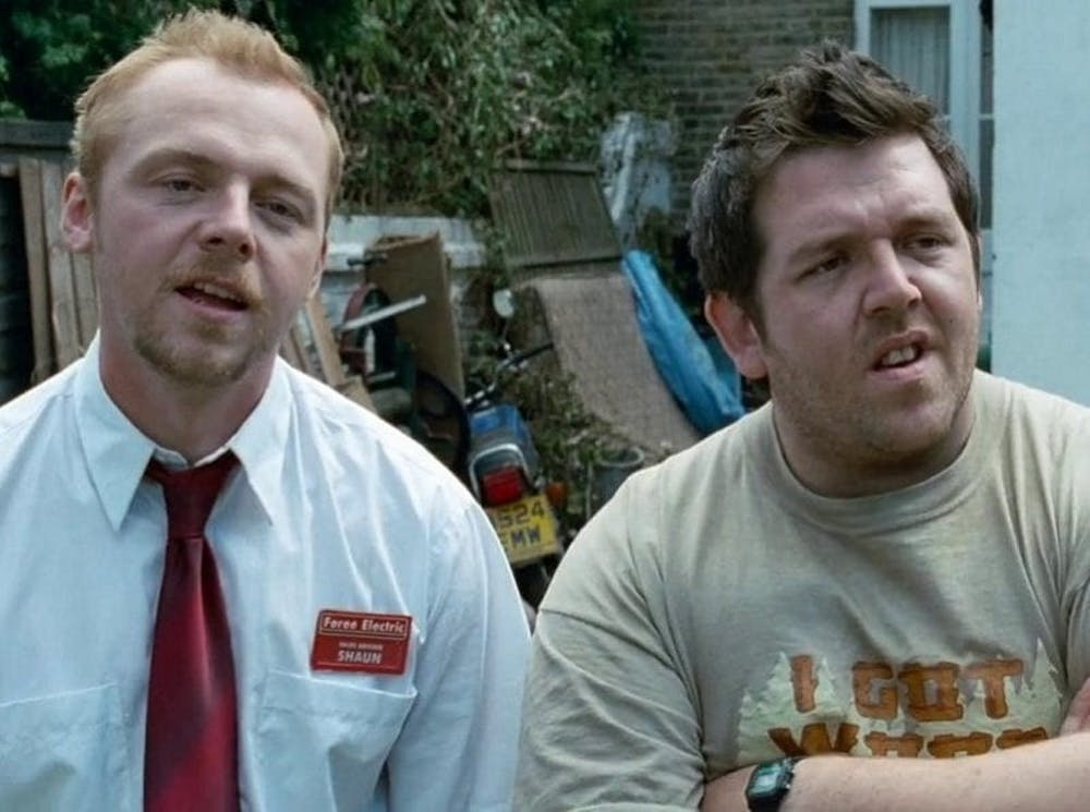 "<p>In ""Shaun of the Dead,"" Shaun (Simon Pegg) and Ed (Nick Frost) find themselves in the middle of a zombie apocalypse.</p>"