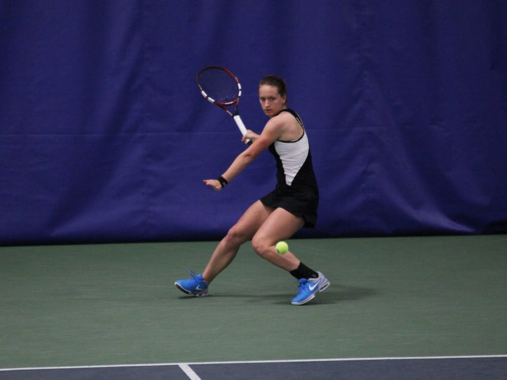 Junior Chalena Scholl kickstarted the Duke comeback with a three-set victory Sunday at Northwestern, helping the Blue Devils prevail in their first road dual of the spring.