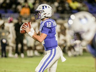 Duke quarterback Gunnar Holmberg will have a tough test in facing the Northwestern defense.