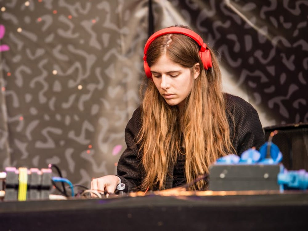 Electronic musician Laurel Halo, pictured in 2015, is one of the artists featured in the lineup of Duke Coffeehouse and WXDU's Brickside Music Festival April 7.