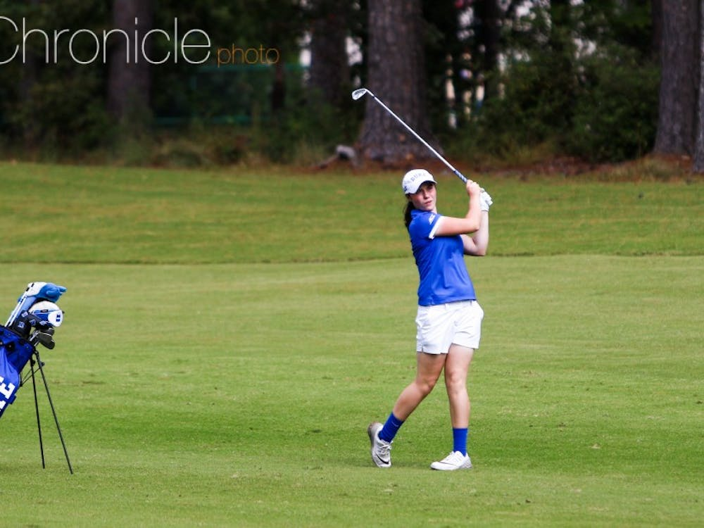 Leona Maguire and the Blue Devils are hoping to earn a momentum-building win again in Baton Rouge.
