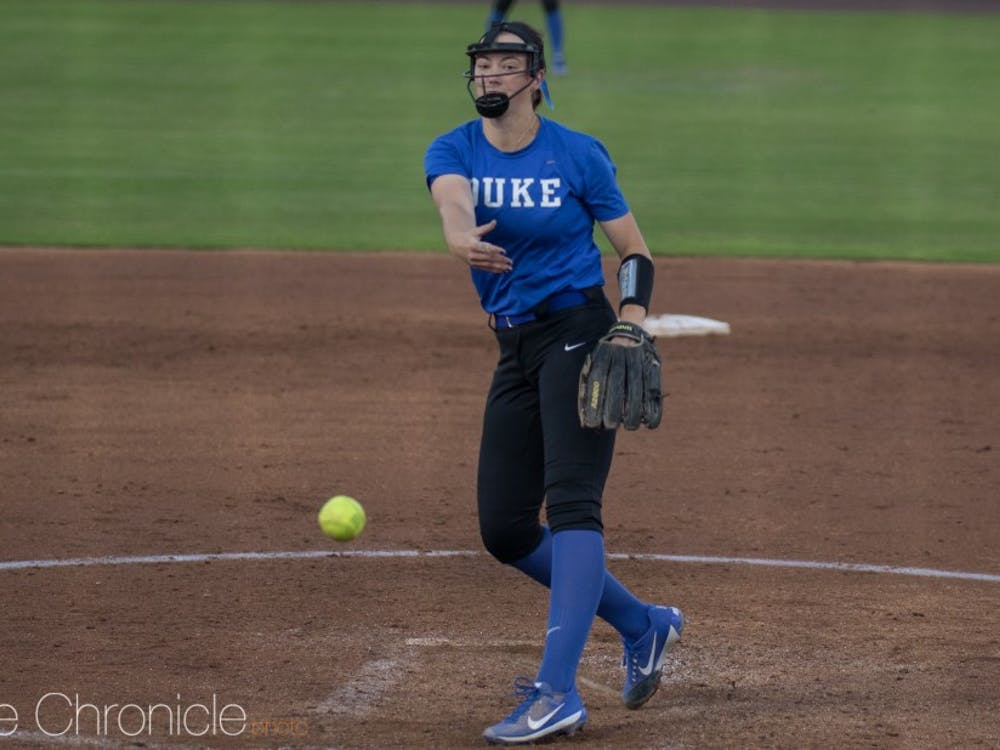 Amelia Wiercioch has shown some flashes of brilliance from both the mound and the plate this year.