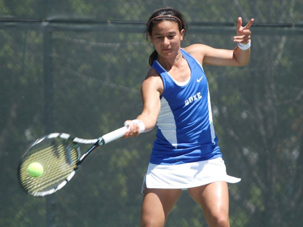 Hanna Mar's career as a Blue Devil was cut short by an aggressive Bruin squad Saturday in the NCAA quarterfinals.