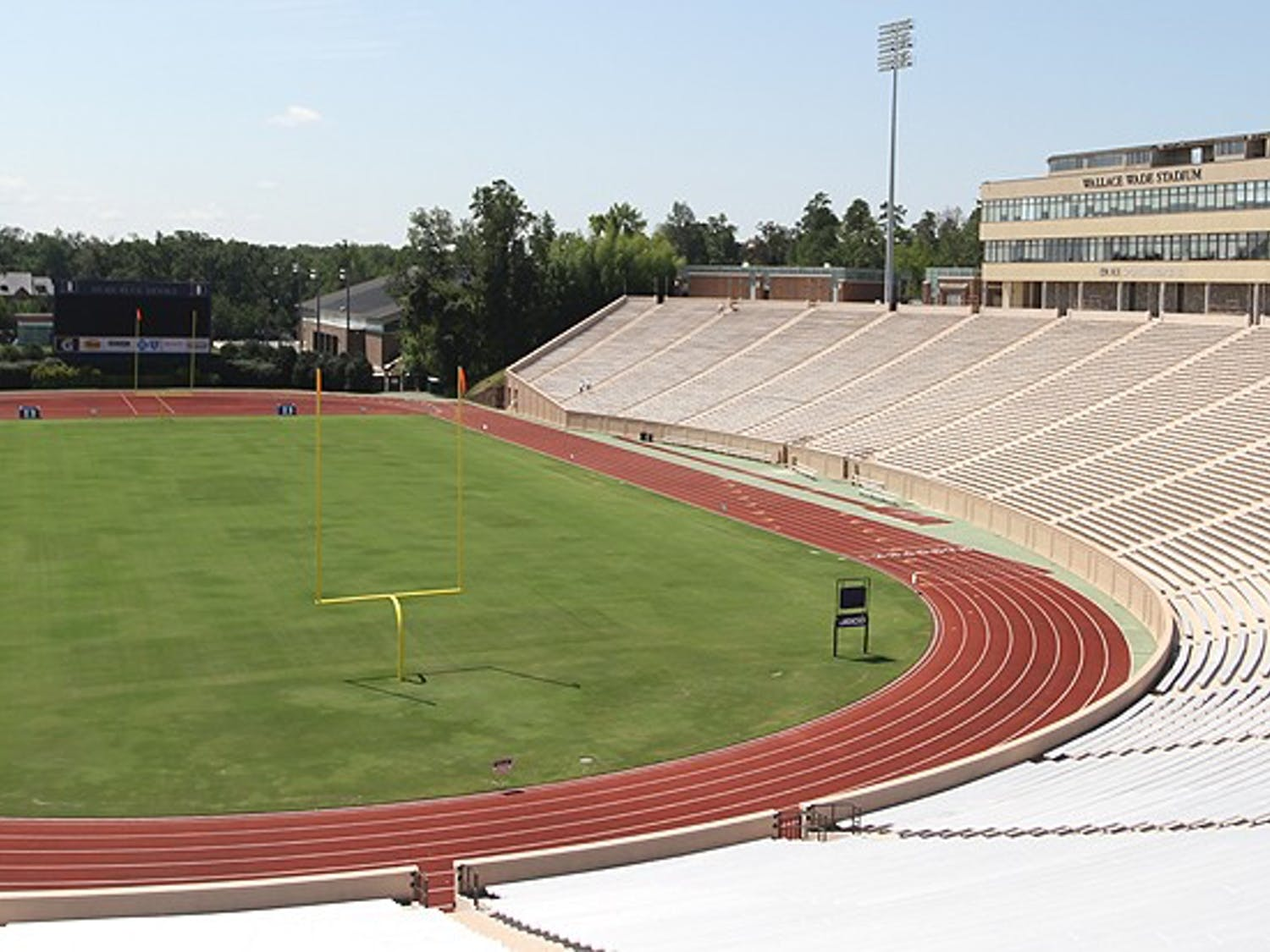One of Duke Forward's goals is to complete Wallace Wade's bowl, upping the seating capacity to 44,000.