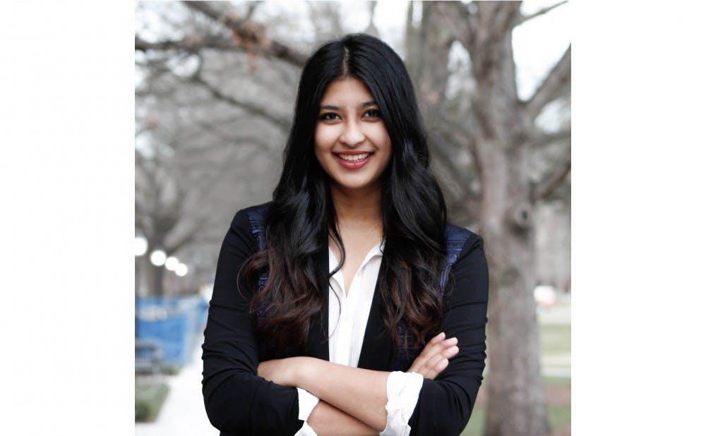 <p>Junior Tara Bansal was elected DSG president Wednesday.&nbsp;</p>
