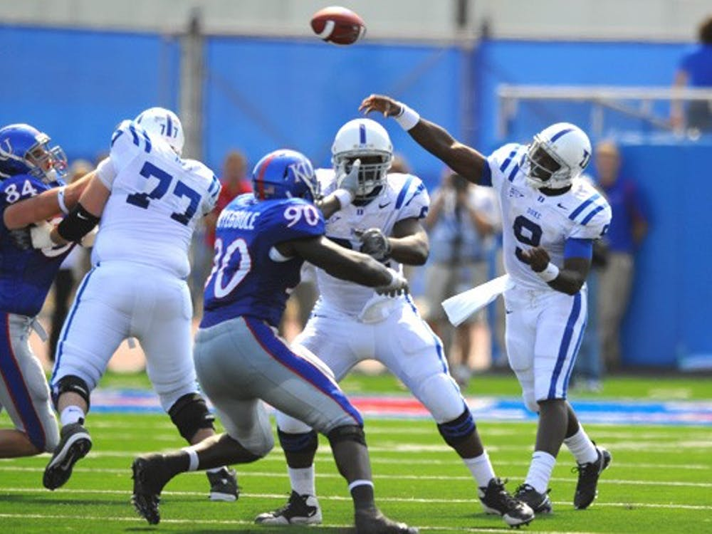 Quarterback Thaddeus Lewis's record-breaking Duke career has not guaranteed him a spot on an NFL roster.