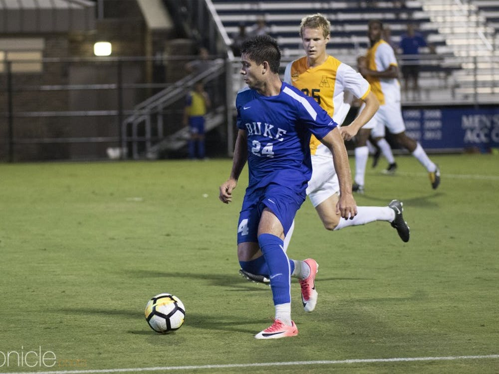 Brian White and the Blue Devil attack will need to counter a Florida International offense that leads the nation in goals per game.