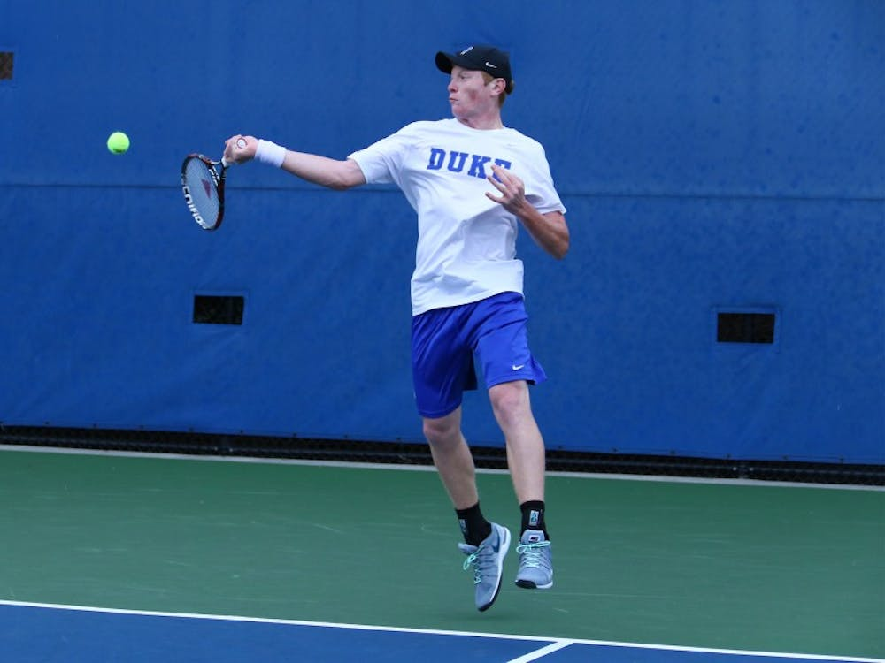 Freshman Ryan Dickerson and the Blue Devils will hit the road for the first time in league play this weekend.