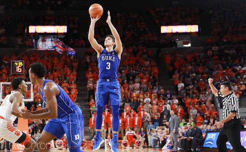 Grayson Allen was in double figures in the first half once again.
