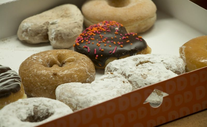 Dunkin' Donuts was approved to join the Merchants-on-Points program last February but only recently coordinated its delivery service.