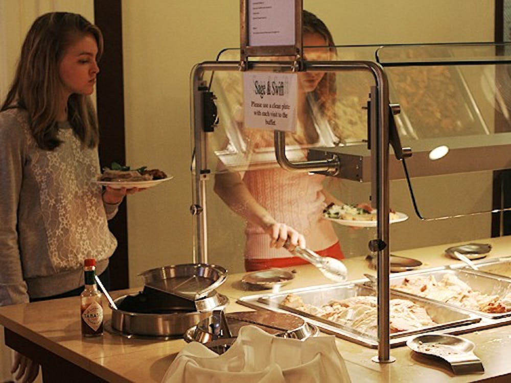 The Faculty Commons was open Thanksgiving day to serve a buffet-style traditional meal for about $14