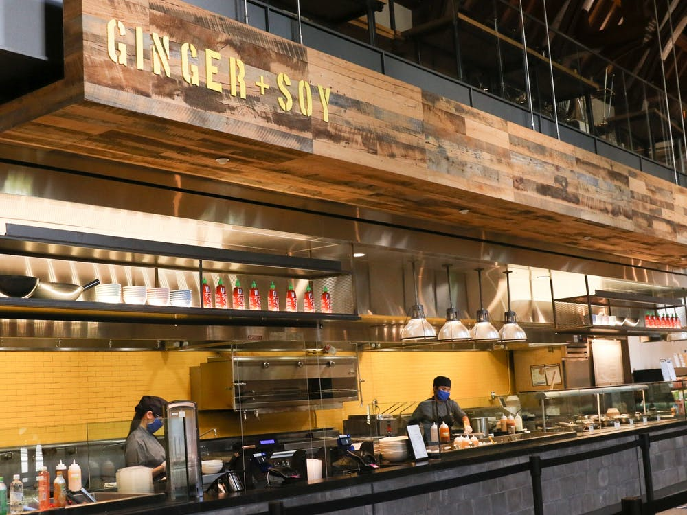 <p>During a two-week test period, Sprout, Farmstead and Ginger and Soy are open until 9 p.m. instead of the usual 8 p.m. closing time.</p>