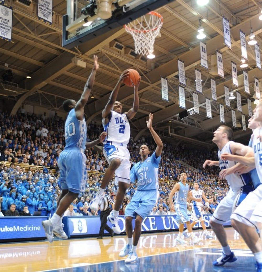 Nolan Smith's final home performance against North Carolina will forever live in Duke lore.