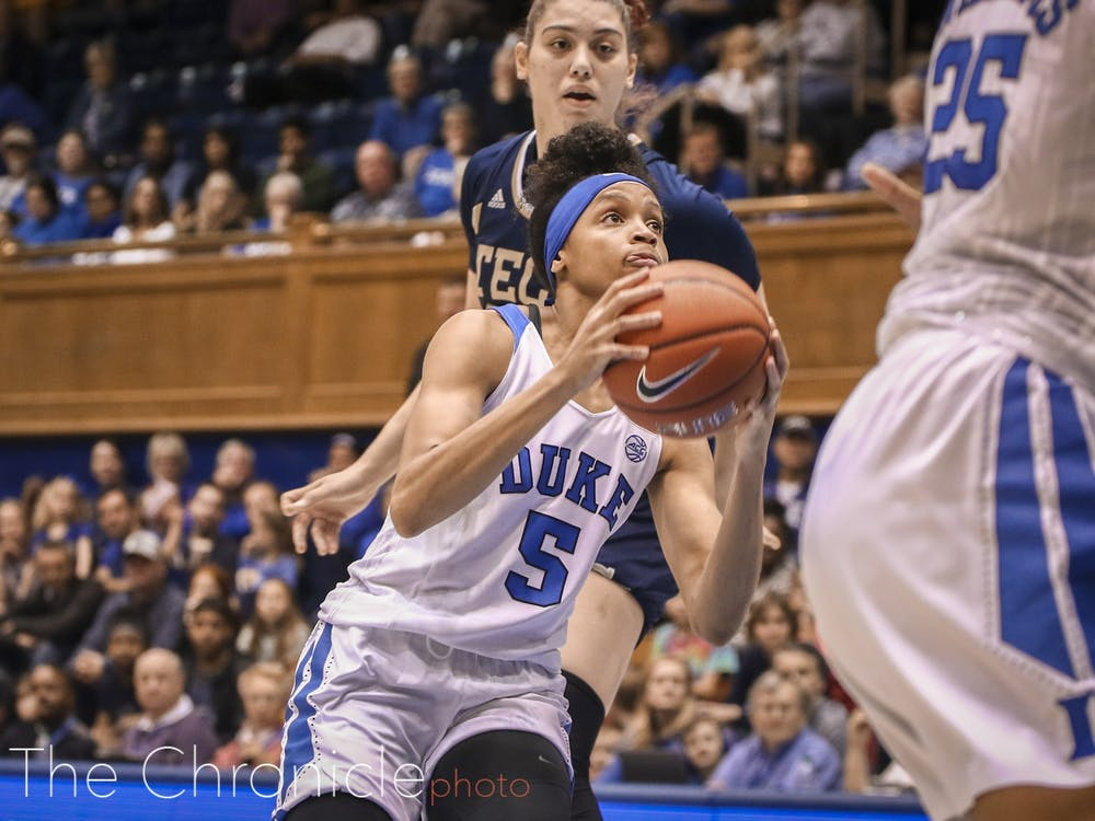Odom led the Blue Devils with 20 points Thursday night