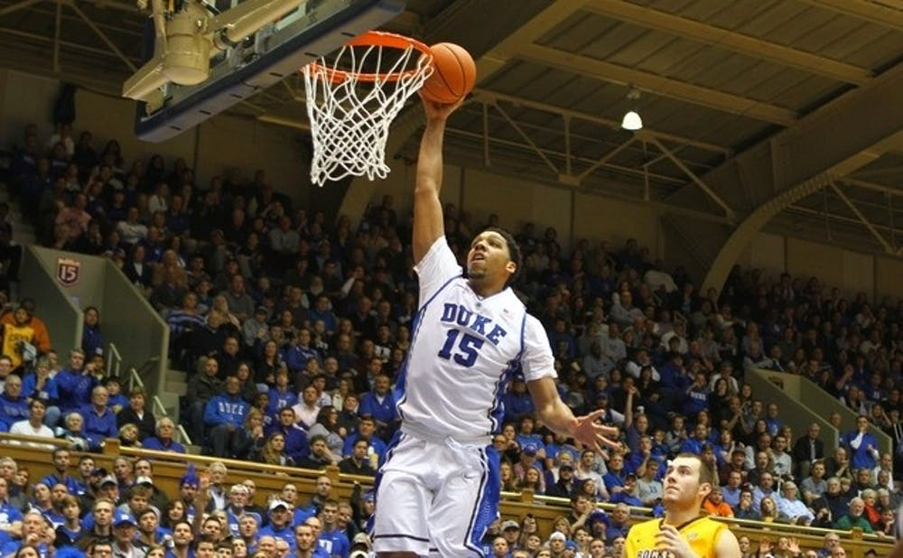 <p>Jahlil Okafor is hoping to reach the same level of success in the NBA as he did at Duke.</p>