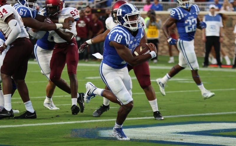 Quentin Harris' rushing ability will be heavily relied upon.