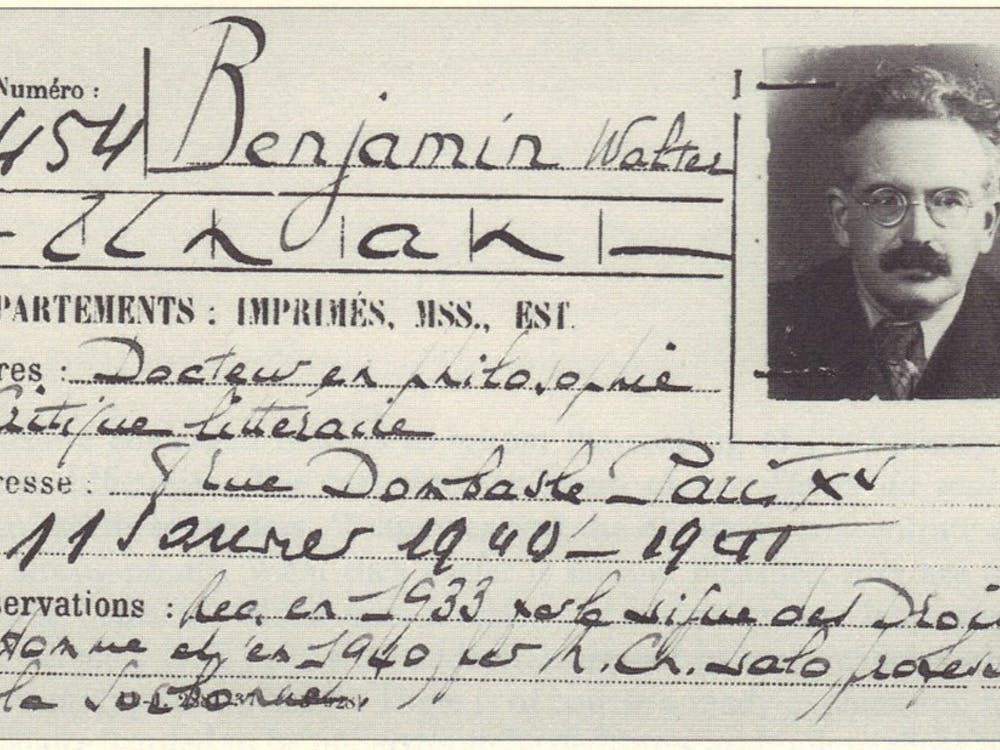 "Cultural critic Walter Benjamin (1892-1940) is profiled in Judith Wechsler's 2014 documentary ""The Passages of Walter Benjamin,"" which was screened at the Full Frame Theater last Thursday."