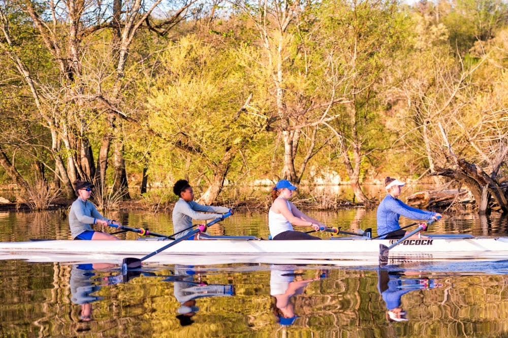 <p>None of Duke's boats finished in the top two in a grand final at Sunday's ACC championship.</p>