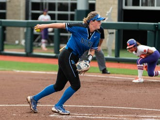 Junior pitcher Shelby Walters notched 11.1 innings and just one earned run across two appearances against the Tigers.