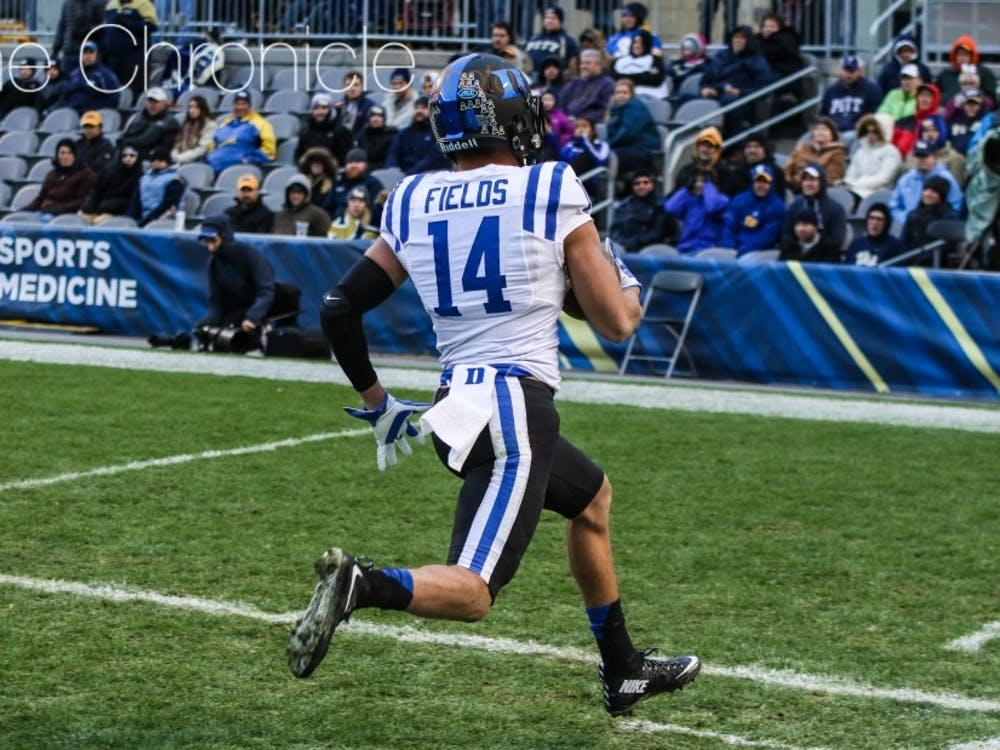 Redshirt senior cornerback Bryon Fields is the only player left on Duke's roster that appeared in the 2013 ACC championship game.