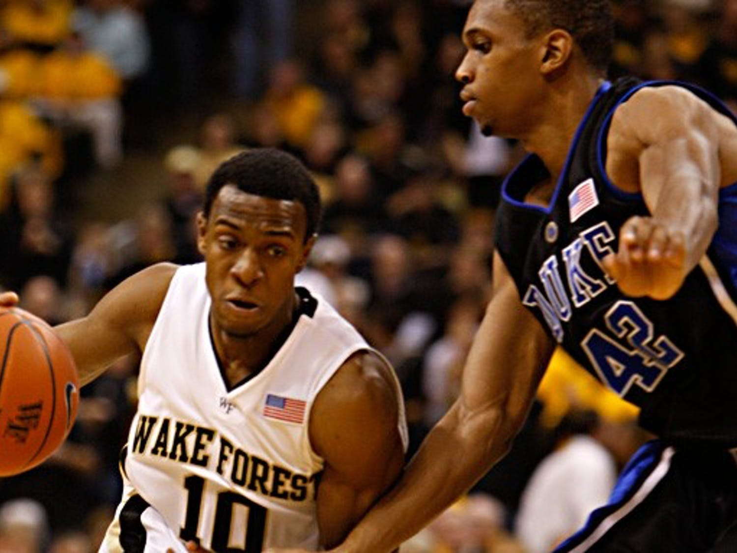 Wake Forest guard Ishmael Smith has helped propel the Demon Deacons, one of only two ACC teams in the national rankings, into the AP Top 25.