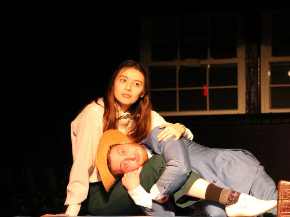 """Duke Players' adaptation of Flannery O'Connor's 1955 short story """"Good Country People"""" ran last weekend in Brody Theater."""