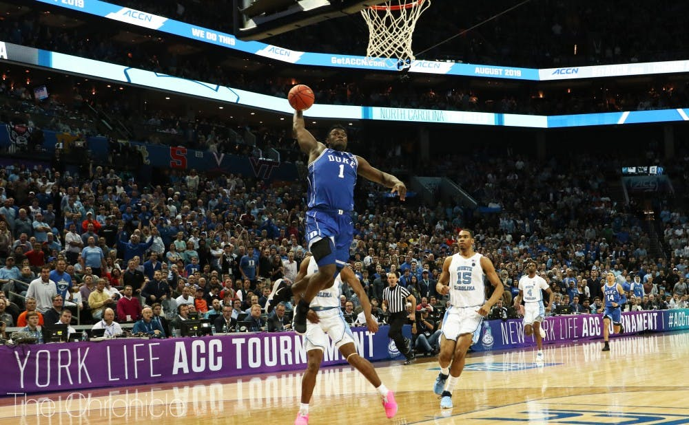 Zion Williamson followed up a 13-for-13 outing against Syracuse with 31 points and 11 rebounds in what will likely be his only game versus North Carolina.