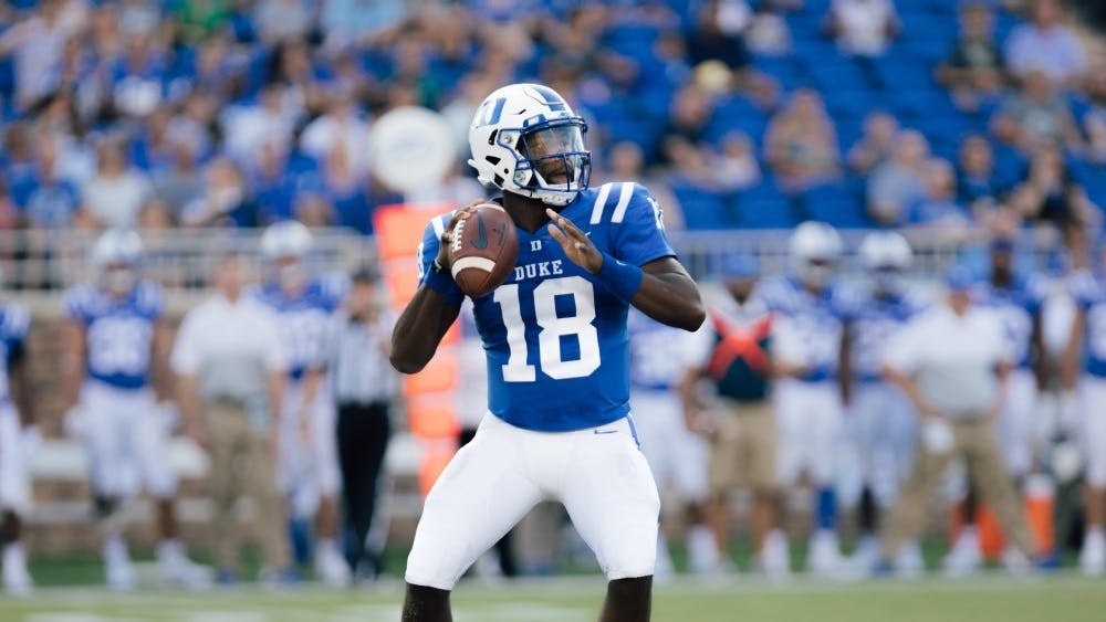 Quentin Harris has already set career highs in completions, passing yards and passing touchdowns this year—both for a game and season