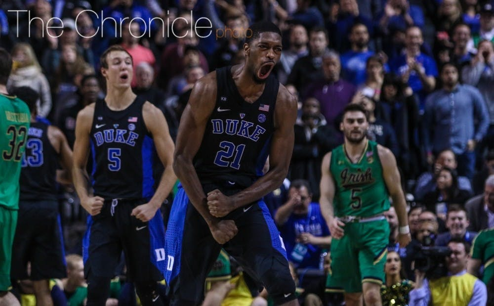 Amile Jefferson will be Duke's newest addition to the coaching staff.